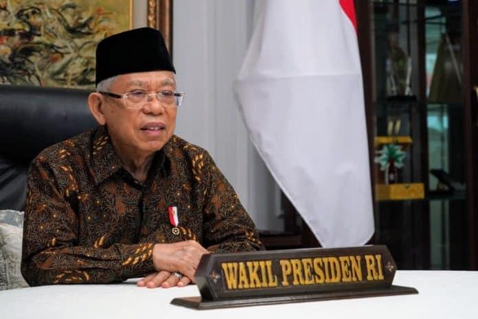 maruf amin 2 696x465 1 Ma'ruf Amin Luncurkan Rencana Aksi Nasional Pencegahan Berbasis Kekerasan
