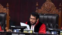 anwar usman mk MK Nyatakan Proses Alih Pegawai KPK Lewat Tes TWK Tidak Bertentangan UUD 1945