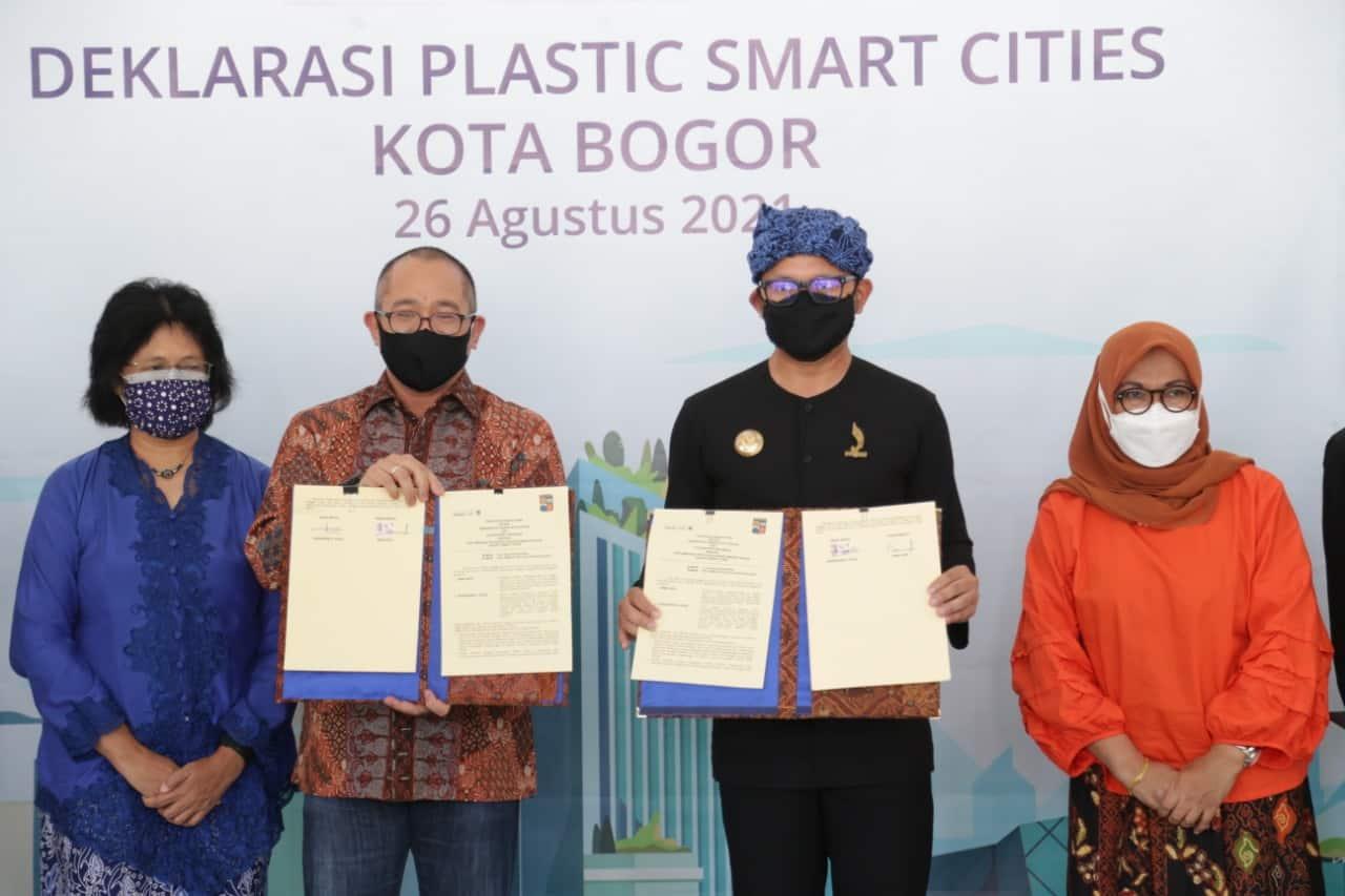 dfc9ec44 181d 49b2 b265 3f2addbf5f8f Pertama di Indonesia, Kota Bogor Deklarasikan Plastic Smart Cities