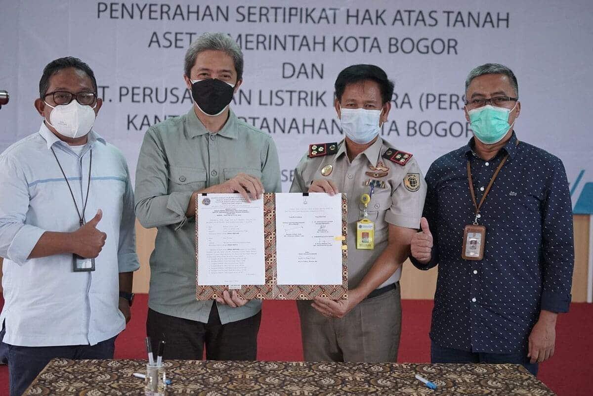 WhatsApp Image 2021 09 08 at 18.07.56 1 Hingga Juli 2021, Pemkot Bogor Kembalikan 716 Bidang Tanah Aset Pemerintah