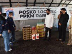 Terima Bantuan di Posko Logistik, Bima Arya : Kita Akan Salurkan Ke Wilayah dan Akselerasikan Dengan Vaksinasi