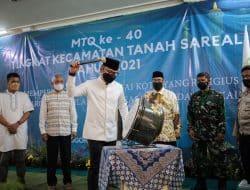 Buka MTQ ke-40 Tingkat Kecamatan Tanah Sareal, Bima Arya Ajak Bermuhasabah