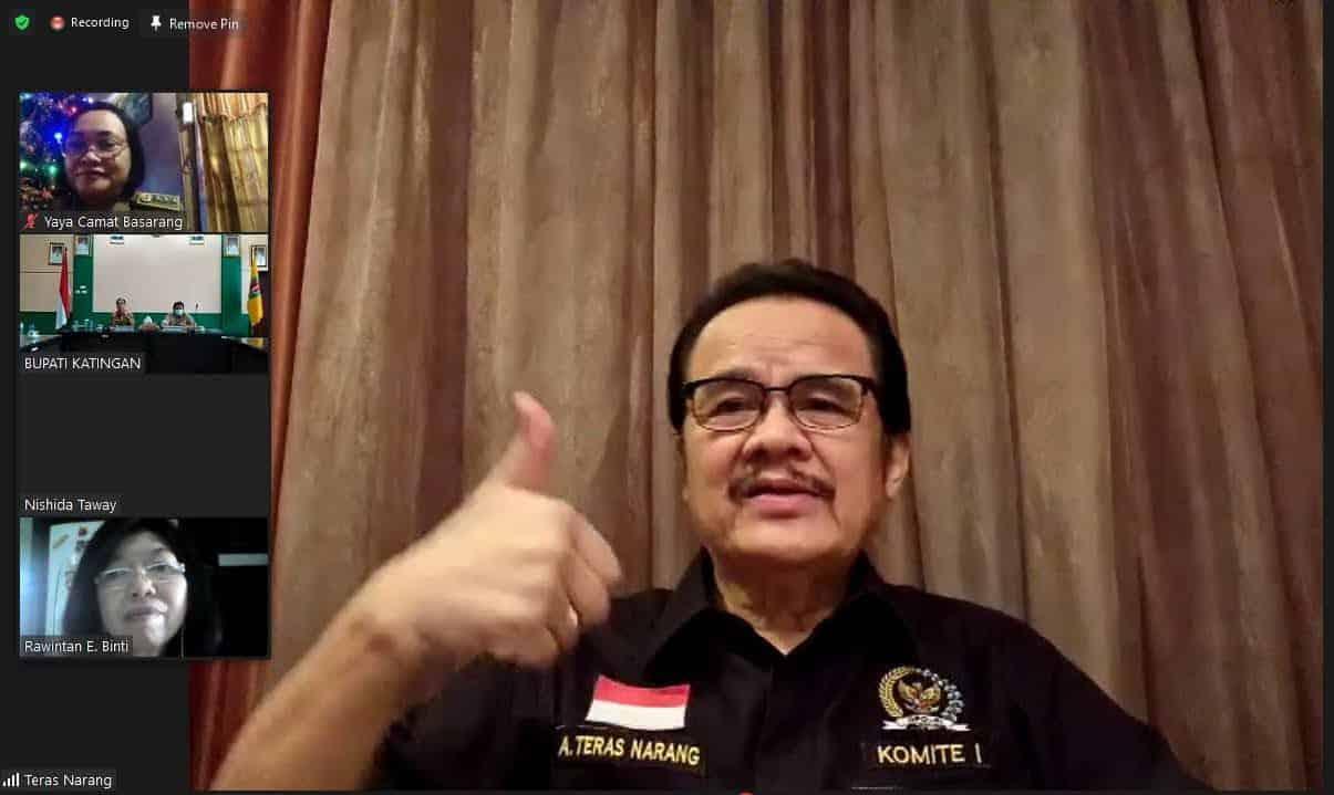 teras1 Anggota DPD RI Sering Dapat Informasi Masalah Konflik ATR/BPN